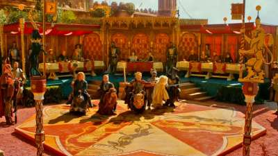 game of thrones dubrovnik scenes Joffrey's wedding
