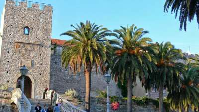 korcula island city centre