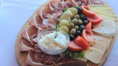 Ham, Cheese and Olives