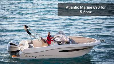 Atlantic Marine Sun Cruiser 690 for 5 - 6 person