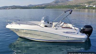 Quicksilver 555 Commander for up to 4 person