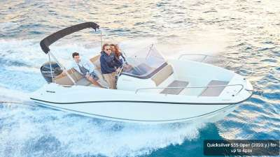 Quicksilver 555 Open (2020)