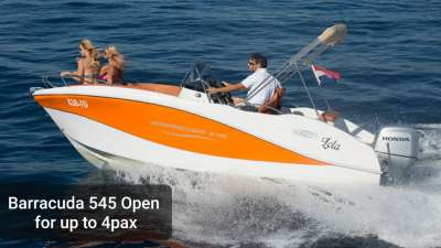 Okiboats Barracuda 545 Open