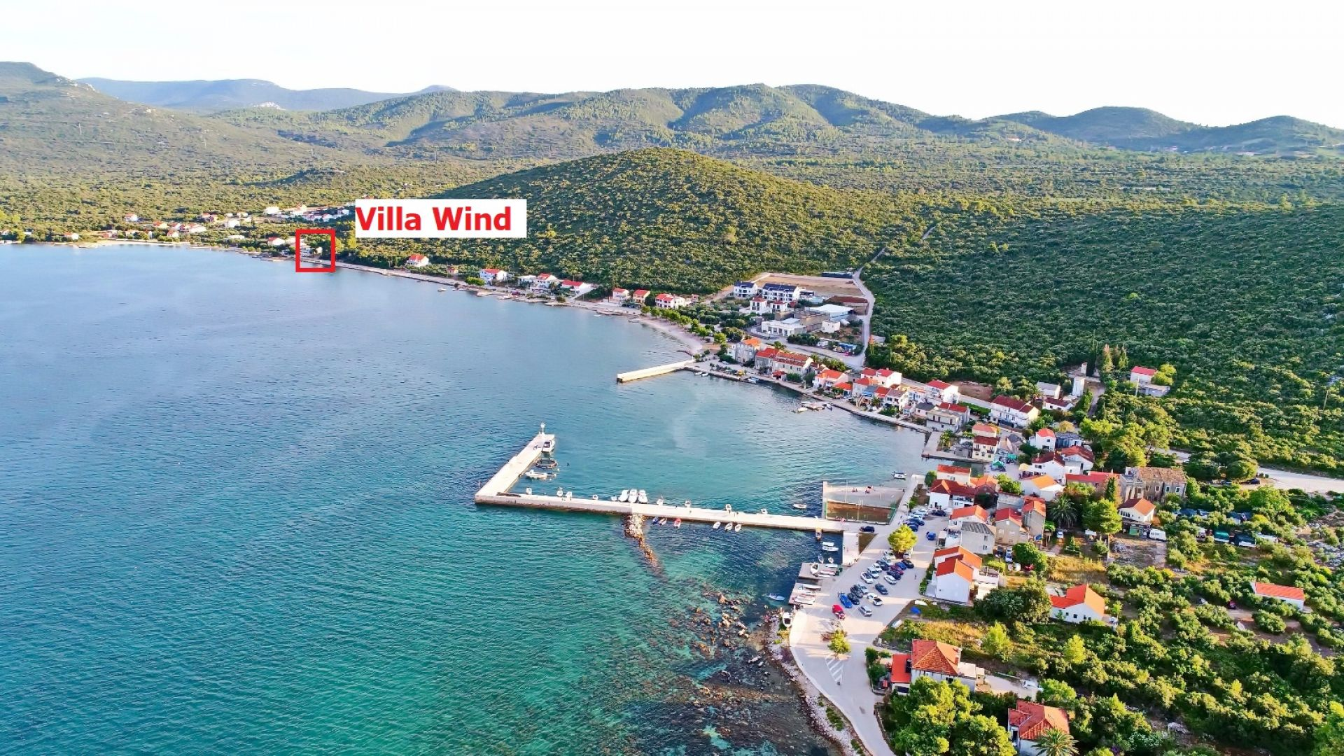 Peljesac apartments by the sea