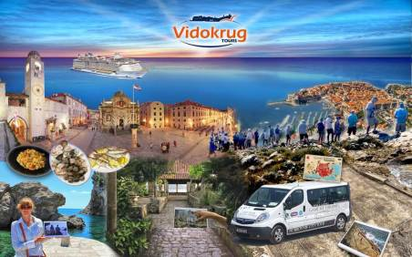 dubrovnik tours and transfers vidokrug